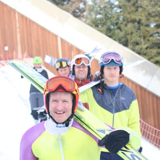 L'équipe britannique non officielle de saut à ski apprend à sauter à ski avec Eddie The Eagle Semaine 2 2