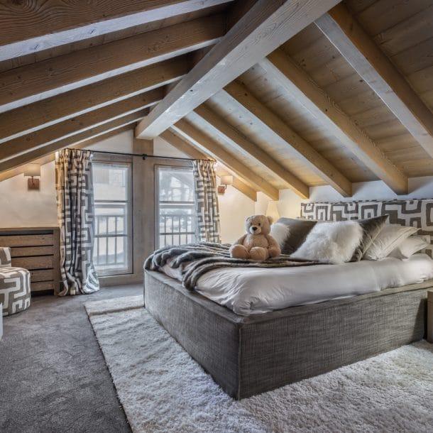Роскошное лыжное шале Cristal Lodge Meribel с спальней
