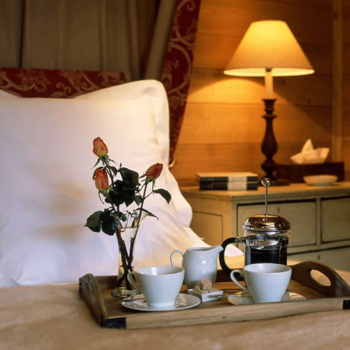 Tea And Coffee At Our Luxury Ski Chalet Bartavelles In Meribel